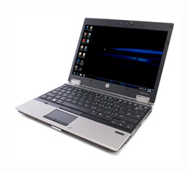 "HP EliteBook 2540p i7 2.13ghz 4GB 160GB 12.1"" DVDRW, W7PRO - VB841AV"