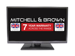 "JB-501811FSM Mitchell & Brown 50"" LED, T2 Tuner, FHD, SMART, Freeview Play, Black, 7 years warranty."