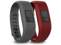 Garmin 2-pack band for Vivofit 3 Grey + red 010-12452-02 - eet01