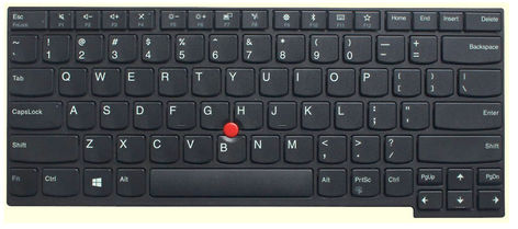 Lenovo Keyboard (NORWEGIAN) Backlit 01AX548 - eet01