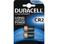 Duracell Battery Ultra Photo CR2 Lithium, CR17355, 1pcs 020306 - eet01