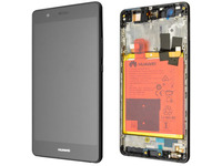 Huawei P9 Lite (VNS-L21) Black With Battery and Frame 02350TMU - eet01