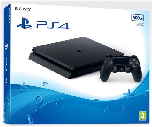 Sony PS4 Slim Black 500GB  0711719845454 - eet01