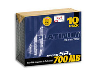 Platinum CD-R 700 MB, 10 Pcs.  100144 - eet01