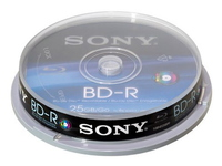 Sony 10 PACK 25GB RECORDABLE SINGLE  10BNR25SP - eet01