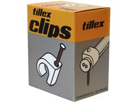 Tillex Cable clips: 15-19 mm Nail: 2.0 x 45 mm, black 1189 - eet01