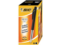 Bic Ballpoint Black 1,0mm Pack Of 50 Pieces 1199190125 - eet01