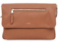 "Knomo Elektronista Clutch 10"" Leather, Caramel 120-046-CAR - eet01"
