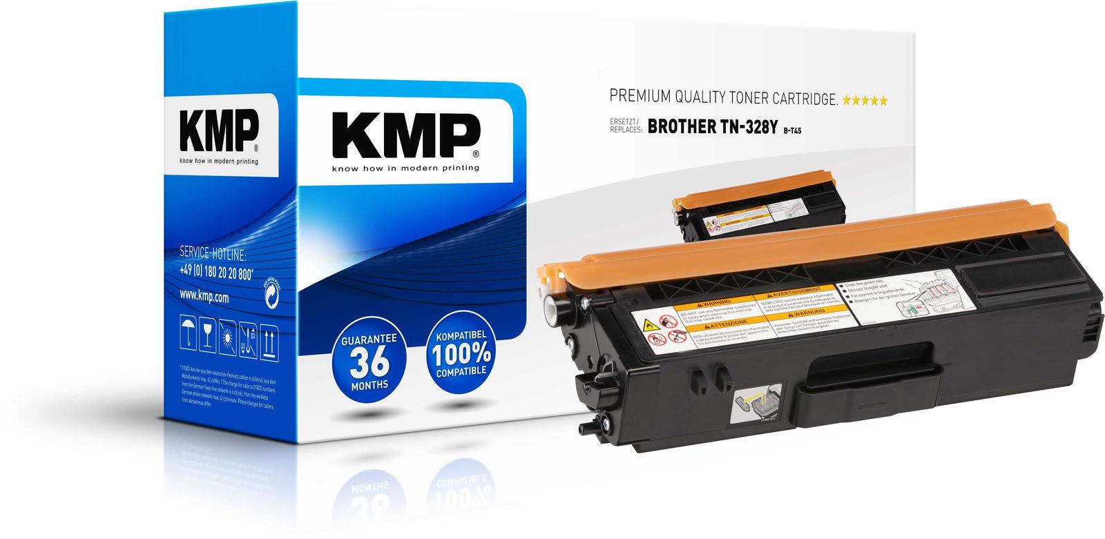 KMP Printtechnik AG Toner Bredher TN-328Y/TN328Y  1244,0009 - eet01