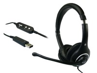 Sandberg Plug'n Talk Headset USB Black  125-95 - eet01