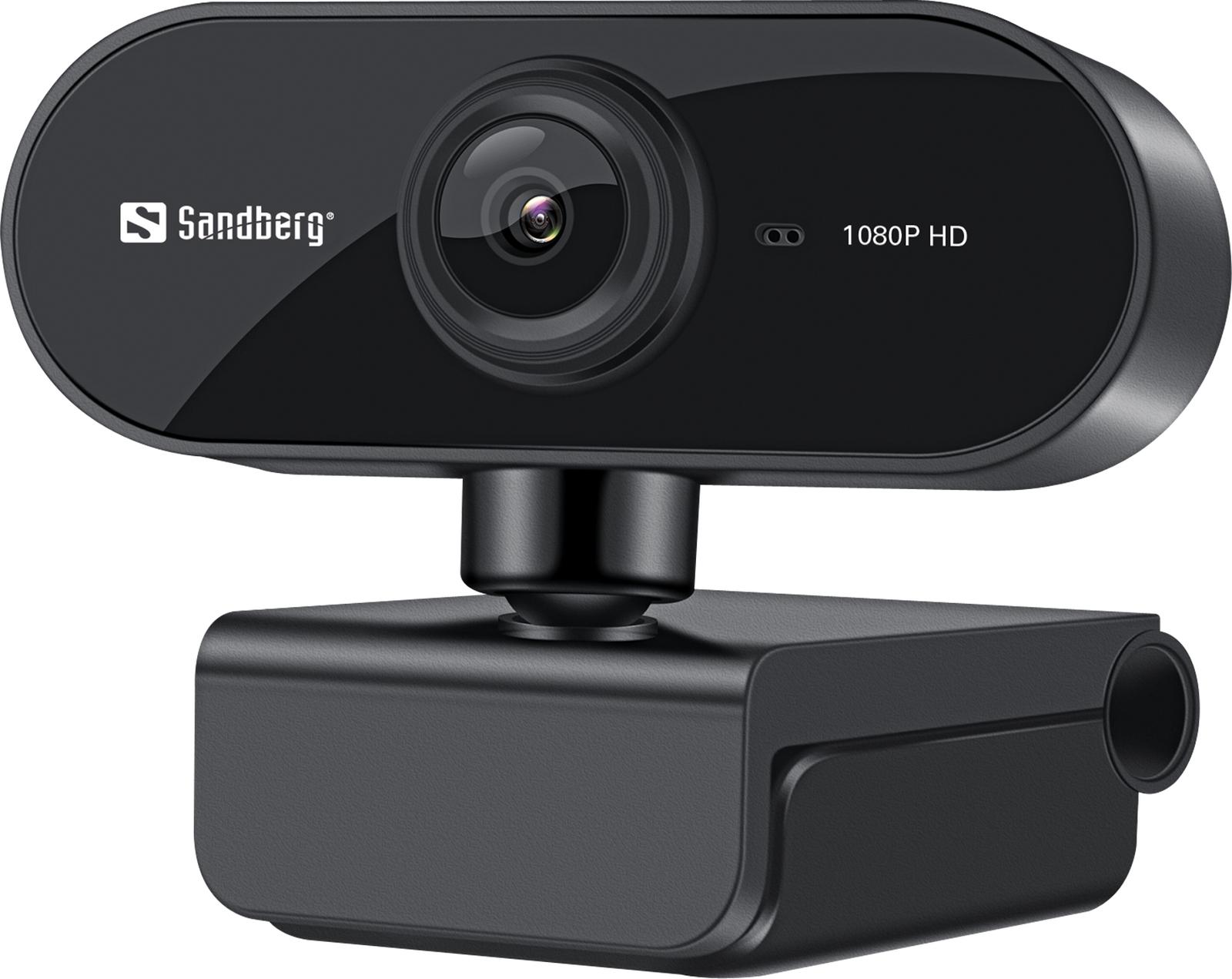 Sandberg USB Webcam Flex 1080P HD  133-97 - eet01