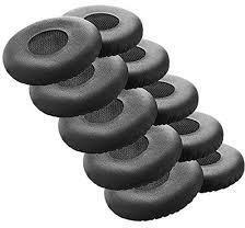 Jabra EVOLVE Ear Cushion, Leather For Evolve 20-65, 10 Pieces 14101-46 - eet01