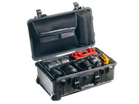 Peli 1514 Carry On case Black With dividers 1510-004-110E - eet01