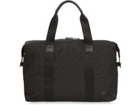 "Knomo Munich Duffle 15"" rPET W/ Leather trim, Charcoal 156-802-CHA - eet01"