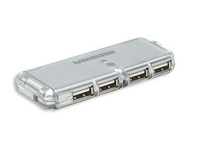 Manhattan Hi-Speed USB Pocket Hub  160599 - eet01