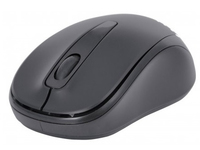 178785 Manhattan Mouse, RF, 2.4GHz, Black Wireless Optical, 10 m, 2x AAA - eet01