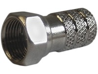 1934 Maximum F-Connector for 7.3 mm Cable Twist-on for NAP48/PE1,100 PCS - eet01
