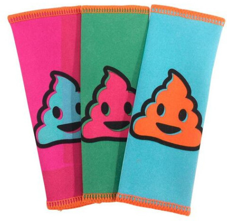 Whoosh! 3pk AntiMicrobial 10x12 emoji Can be washed 50x Hang Dry 1FGCLPOO3PK - eet01