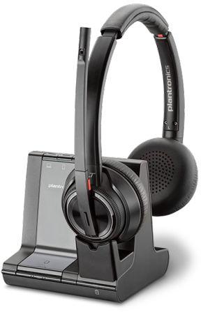 Plantronics Wireless DECT Headset System Savi 8200 Series 207325-12 - eet01