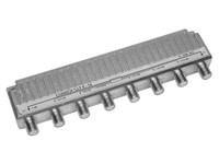 Comega LLT 6-14 6-way tap F-connector. 5-1000 Mhz 22145 - eet01