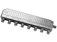 Comega LLT 8-15 4-way tap F-connector. 5-1000 Mhz 22146 - eet01