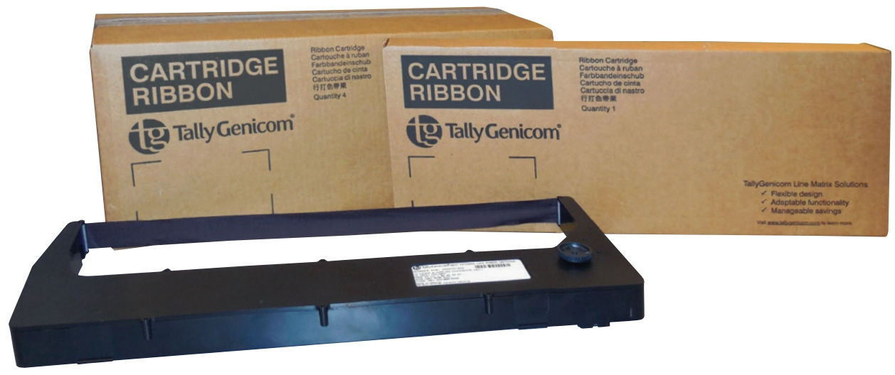 TallyGenicom Extended Life Cartridge Pack of 4 pcs (30,000 pages) 255670-401 - eet01