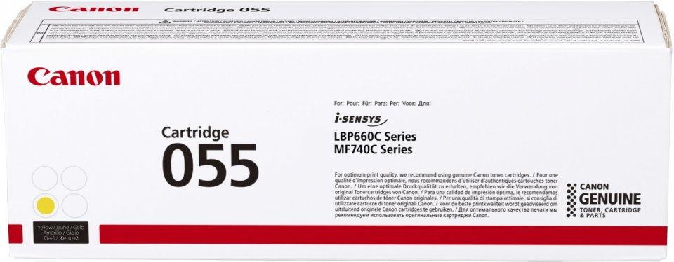 Canon Cartridge 055 Y  3013C002 - eet01