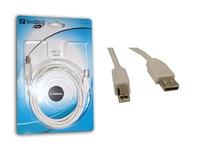 Sandberg USB2 A-B 2m SAVER  302-78 - eet01