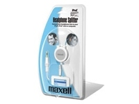 Maxell Ipod headsplitter 1 pcs 303257 - eet01