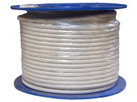 32055 Digiality Coax cable N71 1.6/7.1/9.8mm White, 100m - eet01