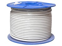 32057 Digiality Coax cable N71 1.6/7.1/9.8mm Halogen free, white, 100m - eet01