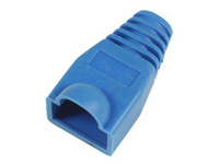 33299-25 MicroConnect Boots RJ45 Blue 25pack 25pcs in one bag - eet01