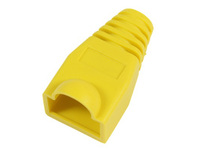 33300-25 MicroConnect Boots RJ45 Yellow 25pack 25pcs in one bag - eet01