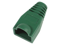 33302-25 MicroConnect Boots RJ45 Green 25pack 25pcs in one bag - eet01