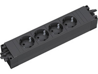 Bachmann STEP BASE - 5xSchuko GST18 Power strip w/PVC - body, 336.626 - eet01