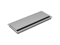 Bachmann CONI COVER built-in frame - Long version - Silver grey 338.0080 - eet01
