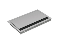 Bachmann CONI COVER built-in frame - Short version - Silver grey 338.0081 - eet01