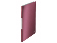 Leitz Displ.Book Leitz Style Pp 20P. Garn.Red 39580028 - eet01