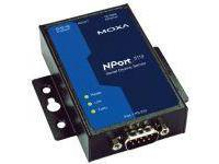 Moxa NPORT DEVICE SERVER 12-48VDC NPORT 5110, 1-PORT RS-232 INKL 40145M - eet01