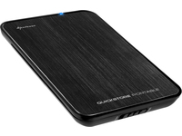 Sharkoon QUICKSTORE PORTABLE USB3.0 BLACK 4044951010202 - eet01