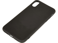 Sandberg Cover iPhone X soft Black  406-29 - eet01