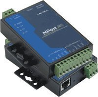 Moxa NPORT DEVICE SERVER 12-30VDC, NPORT 5232I, 2xRS422/485 41494M - eet01