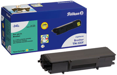 Pelikan TONER (BROTHER TN-325Y) F/ BROTHER YELLOW 3500 PAGES 4213679 - eet01
