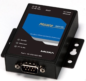 Moxa MODBUS GATEWAY, 1 PORT RS-232/ MGATE MB3180 42316M - eet01