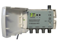 Maximum MT57 A2 Stereo DSB Modulator DSB, Band I, III and UHF 4320 - eet01