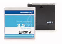 Tandberg Data Cartridge LTO-6 with case.  434021 - eet01