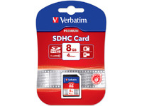 43961 Verbatim 8 GB Secure Digital Card (SDHC) Class 10 - eet01