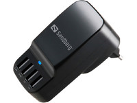Sandberg 4in1 USB AC Charger 6.8A EU+UK  440-87 - eet01