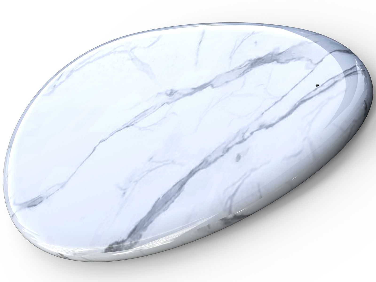 Sandberg Wireless Charger White Marble  441-25 - eet01