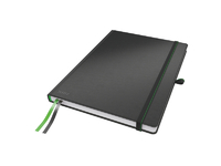 Leitz Notepad Complete A4 Ruled.Blac Leitz. 96g 80sheets 44720095 - eet01